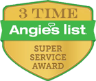 Angie's List 3 Time Super Service Award