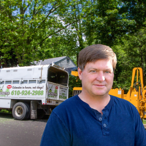 Steve Young, Owner of Monster Tree Service of Chester County and Philadelphia Mainline